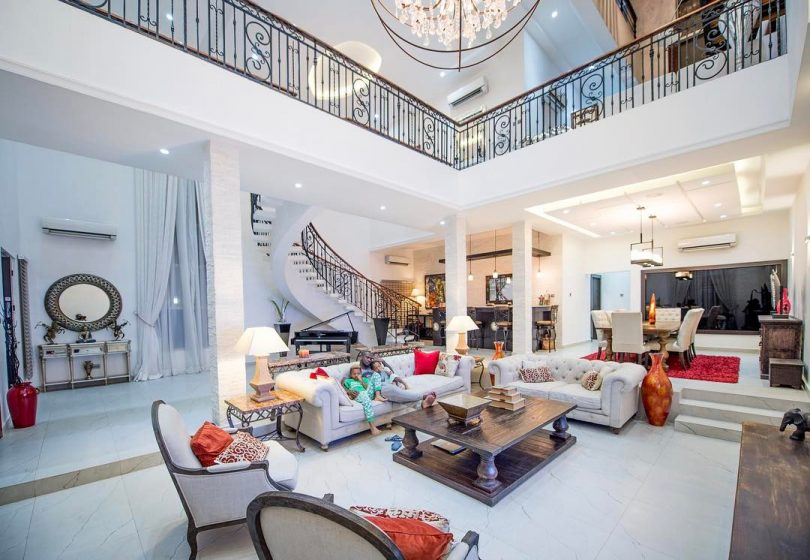 paul okoye of psquare shares photo of their first car and house afrotonez. Black Bedroom Furniture Sets. Home Design Ideas